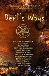 Fire in His Eyes, Blood on His Teeth - Devil's Ways - Dragonwell Publishing 2020